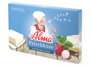 Alma Frischkäse Natur