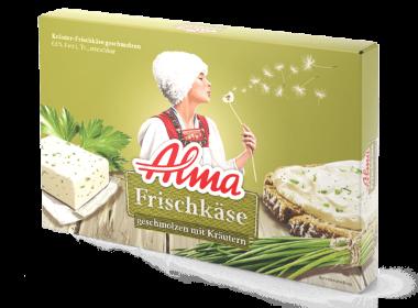 Alma Frischkäse mit Kräutern