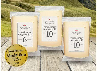 Vorarlberger Medaillentrio 2017