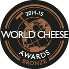 World Cheese Awards Bronze 2014-15