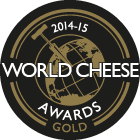 World Cheese Awards Gold 2014-15