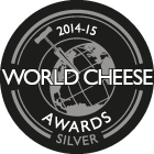 World Cheese Awards Silver 2014-15