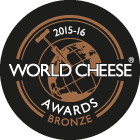 World Cheese Awards Bronze 2015-16