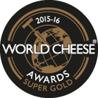 World Cheese Awards Super Gold 2015-16